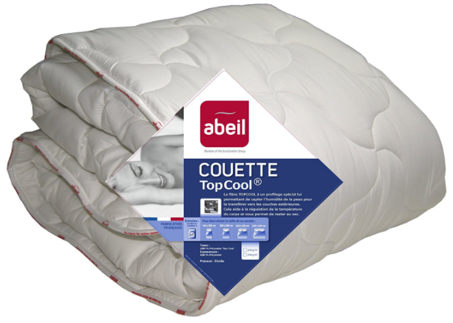 Abeil couette legere anti-transpiration TopCool